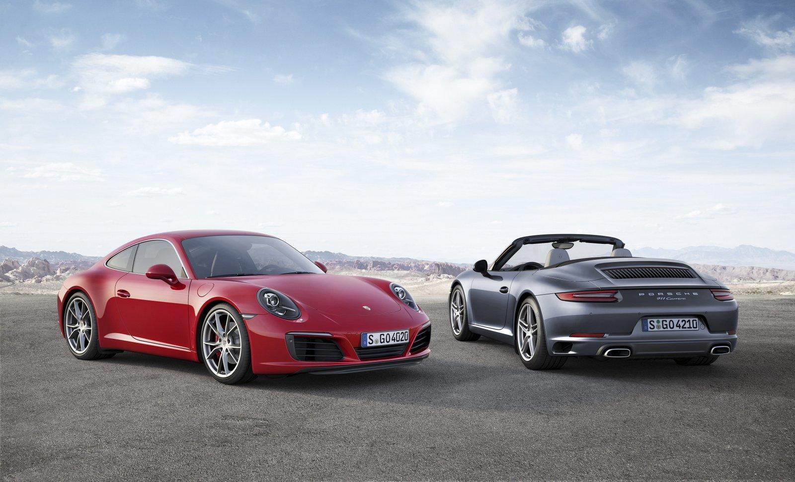 Porsche renova 911 Carrera e Carrera S