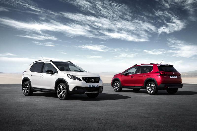 Peugeot revela restyling do 2008