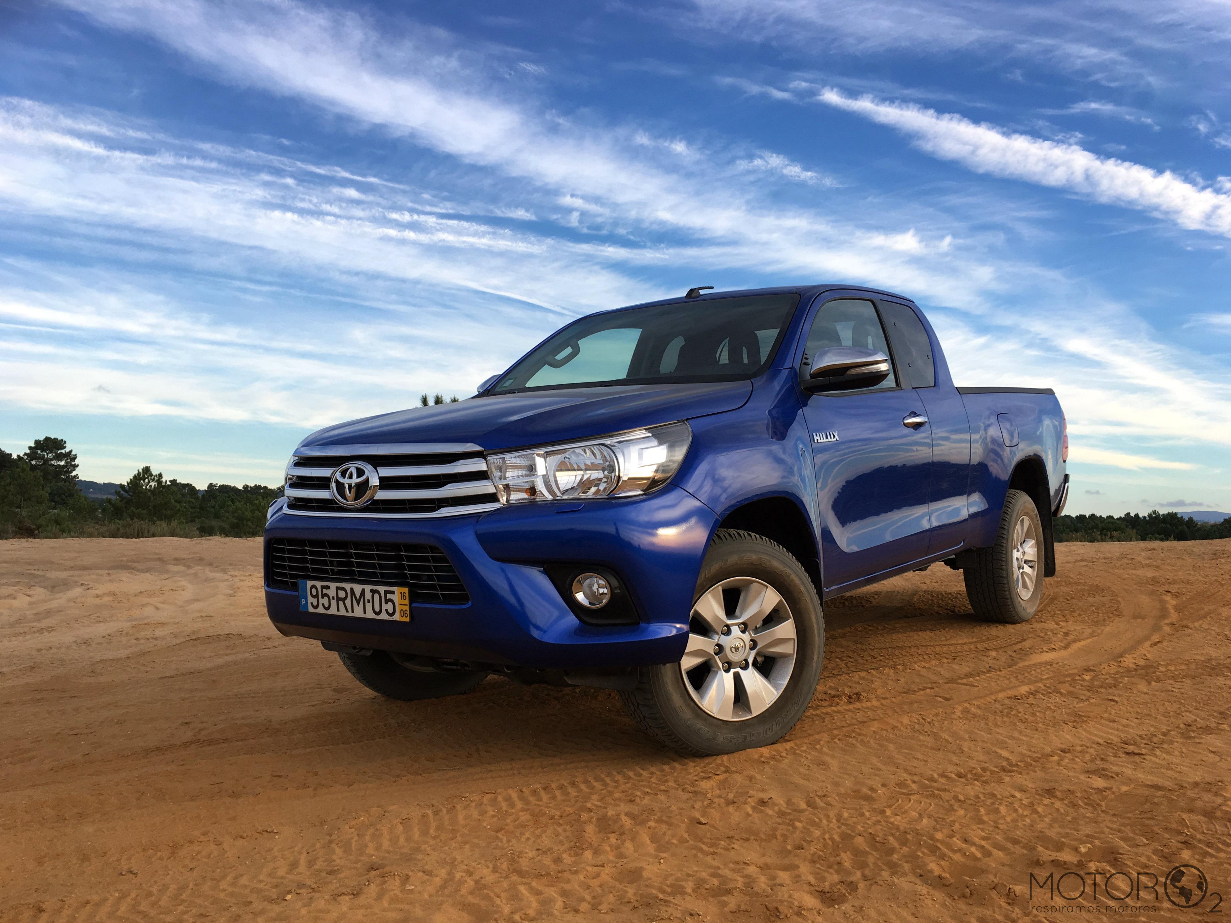 Toyota Hilux 4X4 Trial 2.4 D-4D