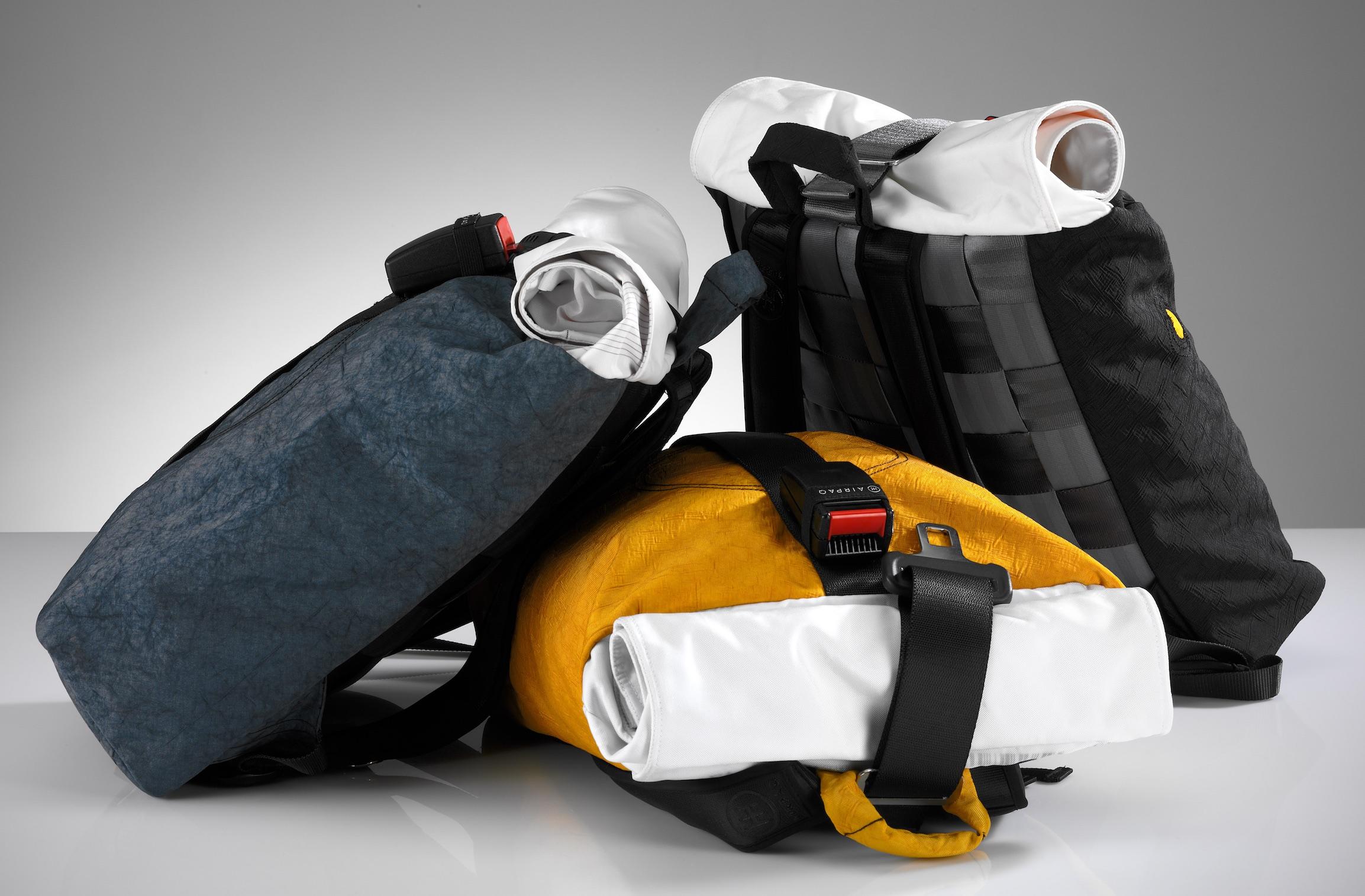Airpaq, uma mochila bastante 'petrolhead'