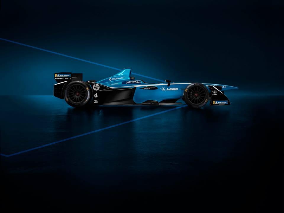 Renault e.dams celebra titulo na Formula E