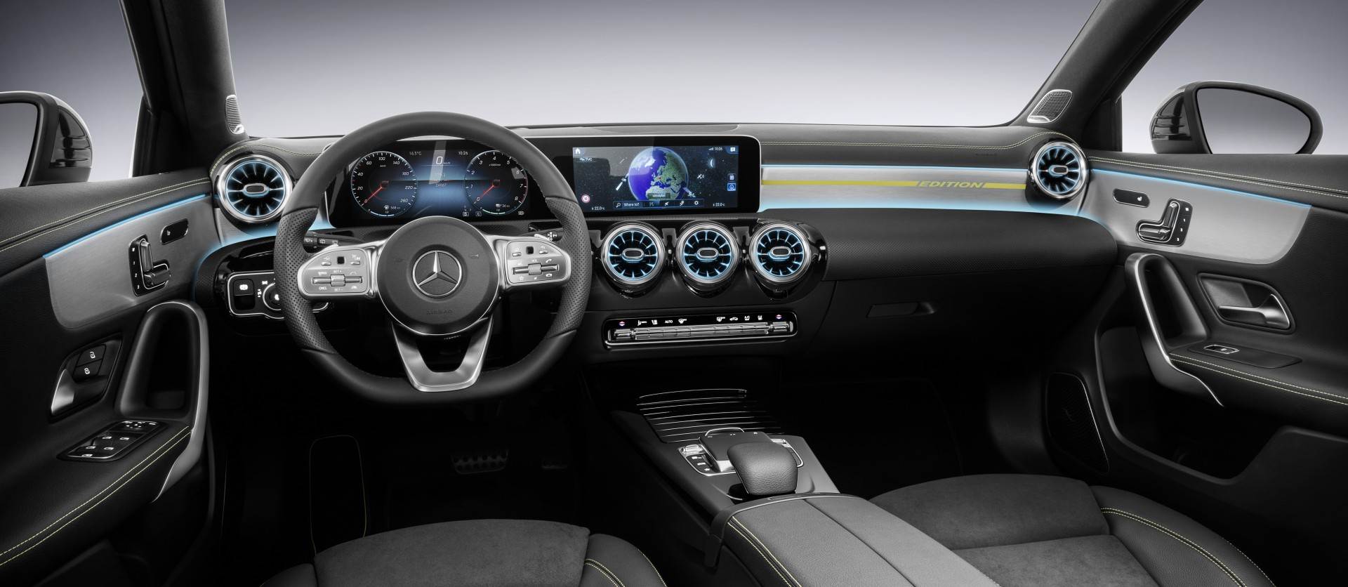 Tudo sobre: O interior do novo Mercedes-Benz Classe A