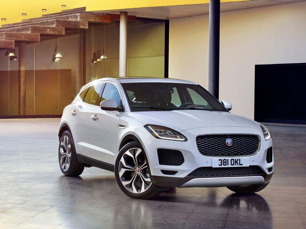 Jaguar E-Pace conquista 5 estrelas nos testes EuroNcap