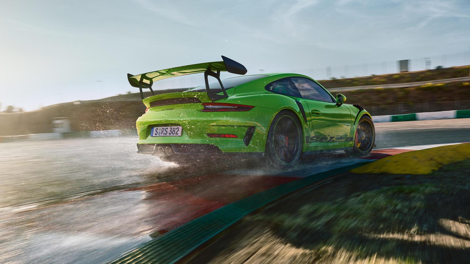 Porsche actualiza 911 GT3 RS