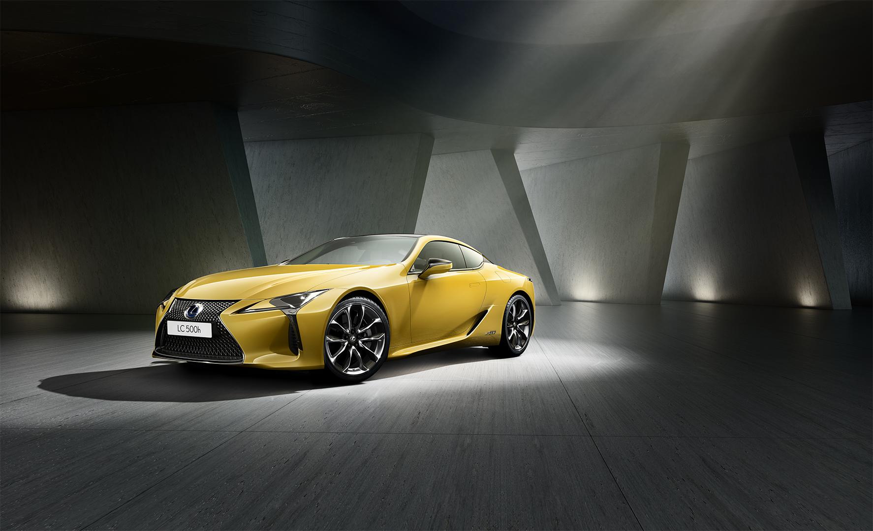 Gostas de amarelo? O Lexus LC Yellow Edition é para ti!