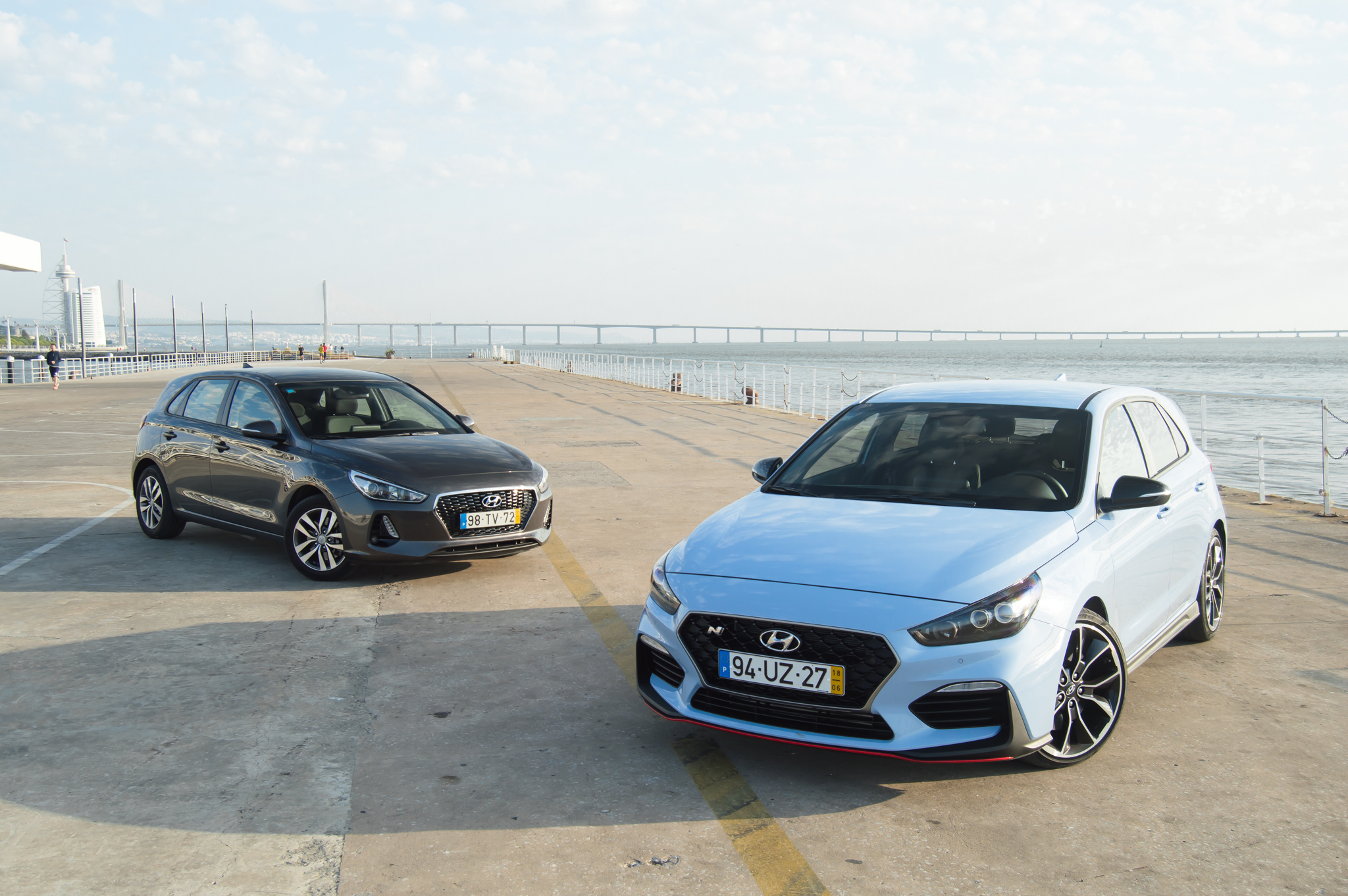 "Comparámos um ""normal"" Hyundai i30 com o i30N Performance"