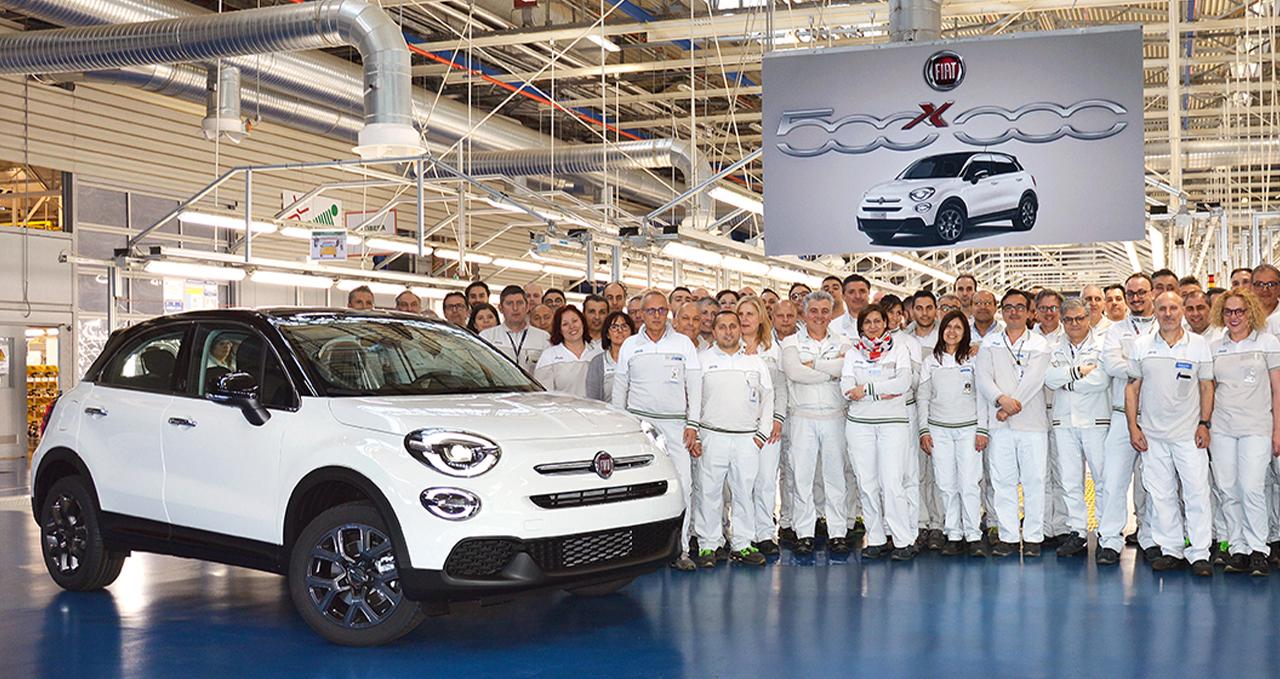 Fiat produz 500X número 500.000